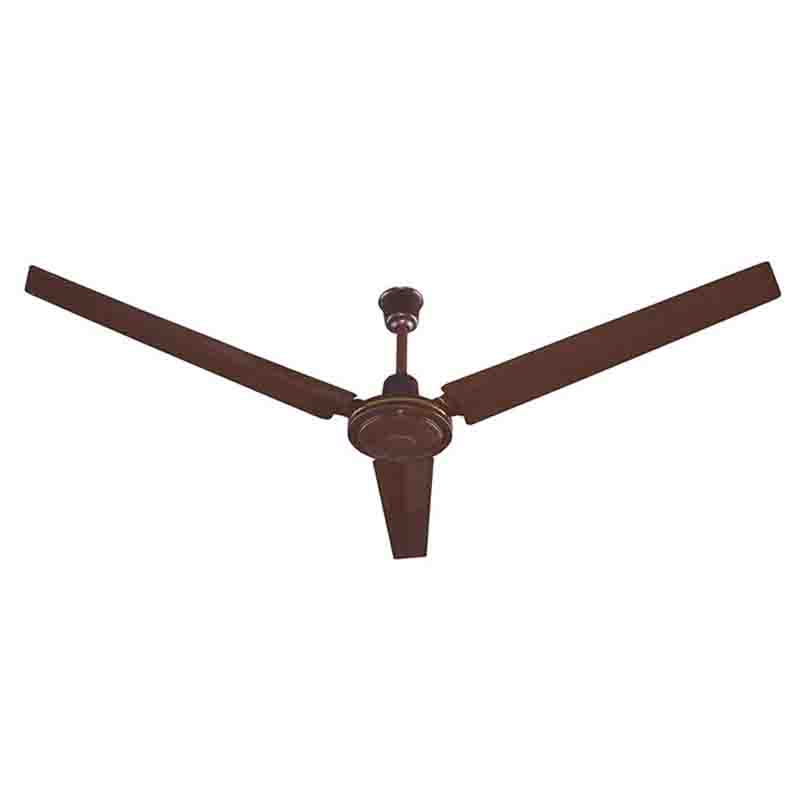 Delron 56 Plain Brown Ceiling Fan Niamapa